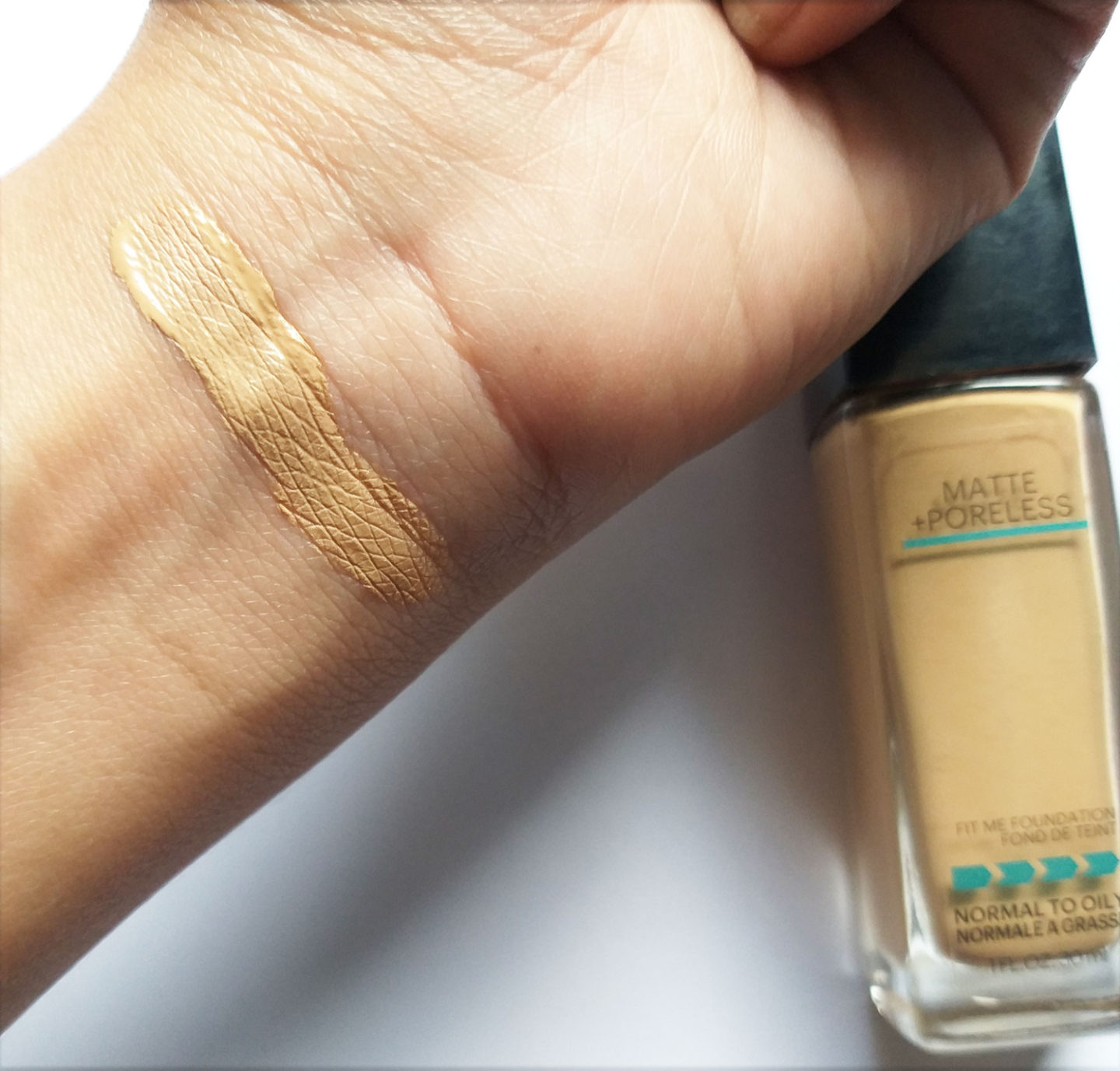 Maybelline Fit Me Matte Poreless Foundation 310 Review Candy Crow